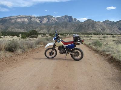 Las Huertas Can.-Palomas Peak-Placitas DS Ride/Hike  5-5-14