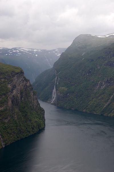 View on Geirangerfjorden.