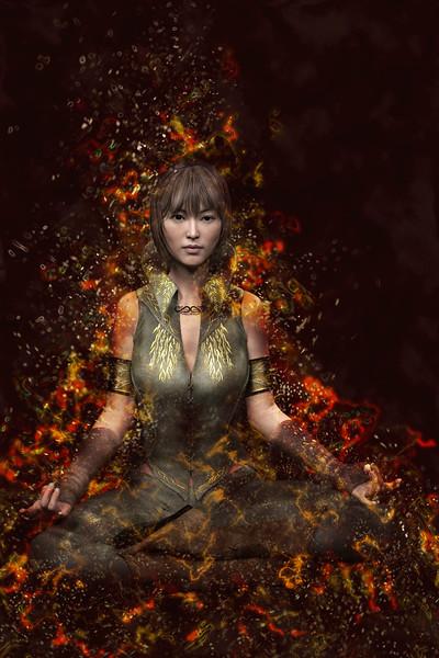 Zen Girl Actionart - Firedust TEST.jpg