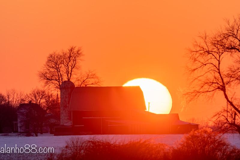 sunset over the Webber's barn 2-16-20 1080-13.jpg