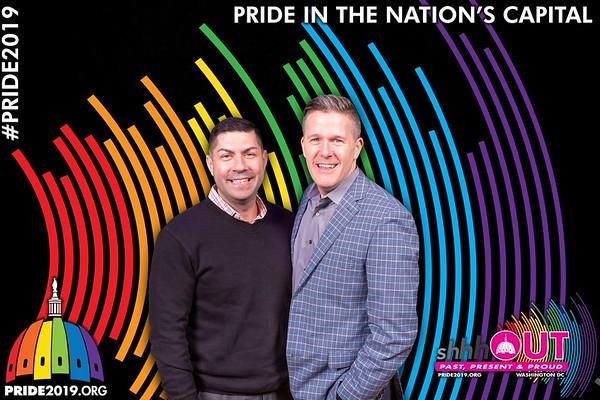 Pride Reveal 2019 Photobooth
