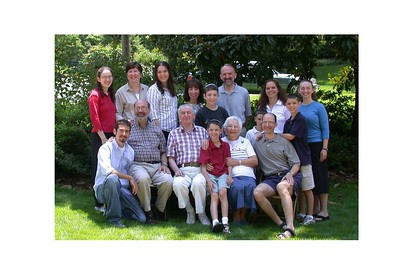 Family Photos & Aaron' Bar Mitzvah (July, 2004)