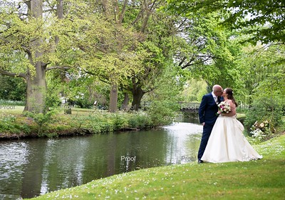 Anna and James at Hertford Castle