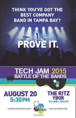 TECH JAM 2015 Battle of the Bands