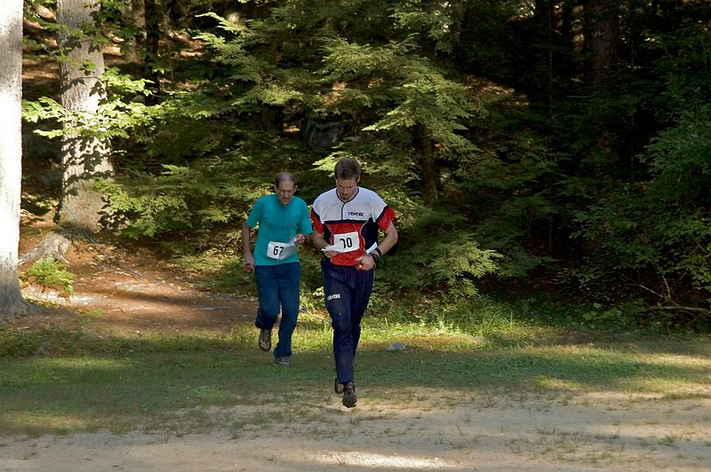 Eric Smith (CNYO) chases Mikkel Conradi (BAOC)   (Sep 10, 2005, 04:48pm)