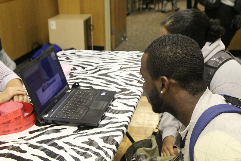 Students watch a 3 minute video on what to do when a person passes out while drinking.