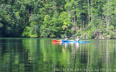 Lake Tugalo South Carolina and Georgia 9-4-16