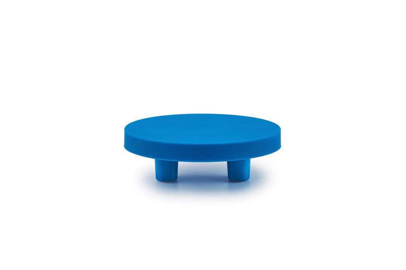 Round Blue handle