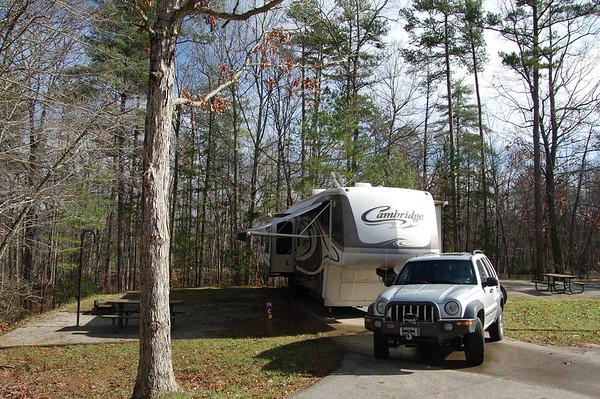 Journal Site 217: Big South Fork National River, Oneida, TN - Nov. 23- 27, 2011