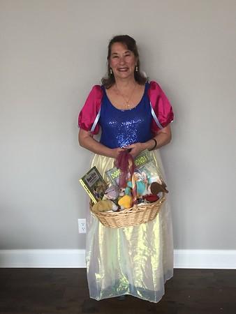 Snow White Visiting Emma's preschool  April 10