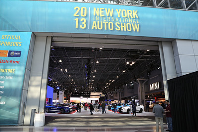 New York International Auto Show 03/29/2013