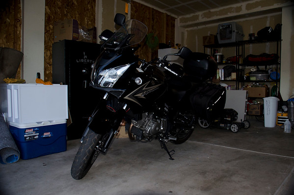 My vStrom Motorcycle