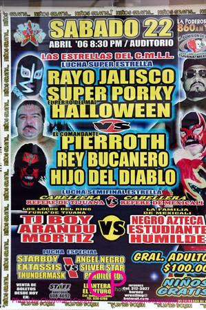 Baja Stars Wrestling - 4/22/06