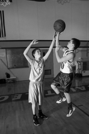 Basketball Test Shots