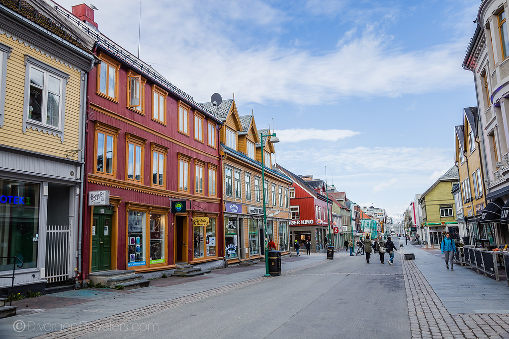 Downtown Tromso Norway