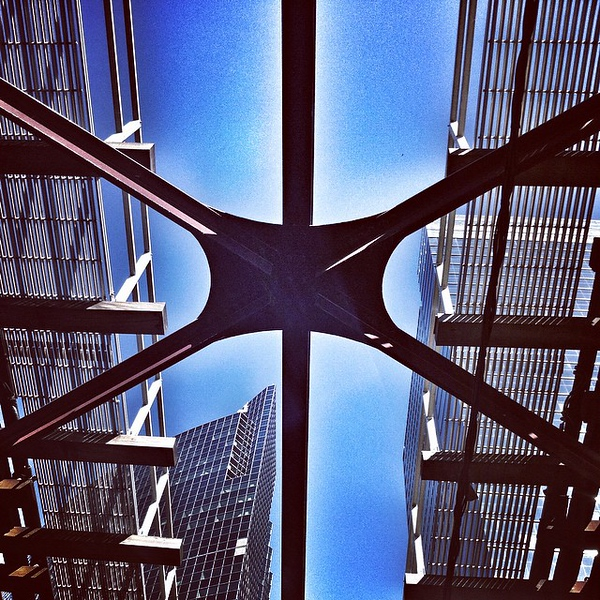 Always look up. #chicago