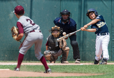 Grosse Pointe v Harper Woods, Baseball, 7-22-12