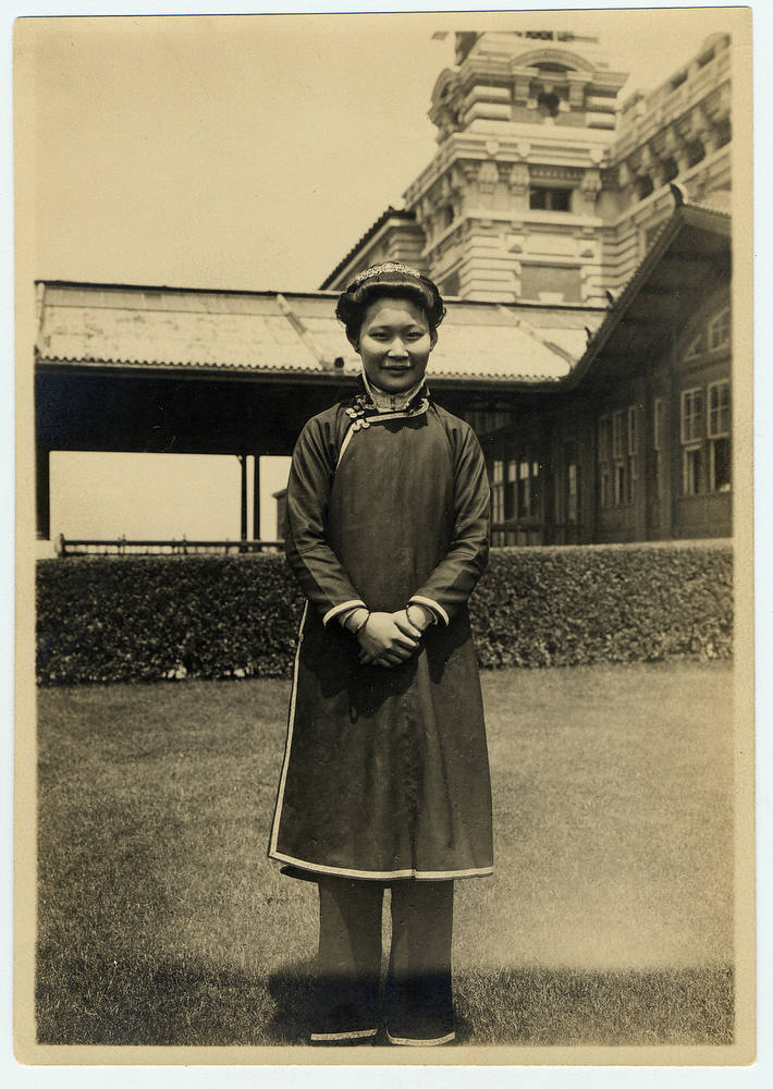 Description of . Cantonese woman. (NPS photo)