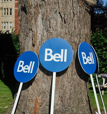 Bell Walk for Montreal - Opening of the MUHC Glen Hospital