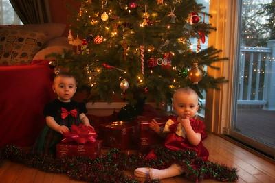 Elise and Sidney Christmas 2010