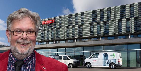 Theo van der Caaij 25 jaar bij BSH