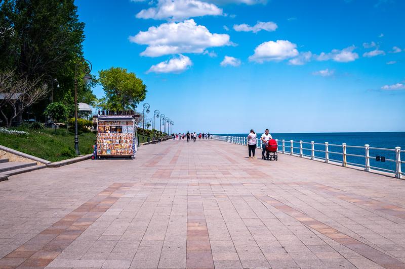 Boardwalk in Constantin, a lovely city.