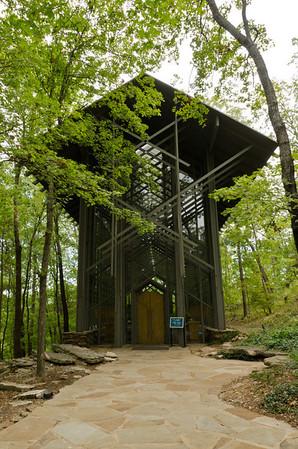 Arkansas, Eureka Springs, Thorncrown Chapel