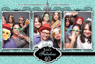 Lea's 40th Birthday Party