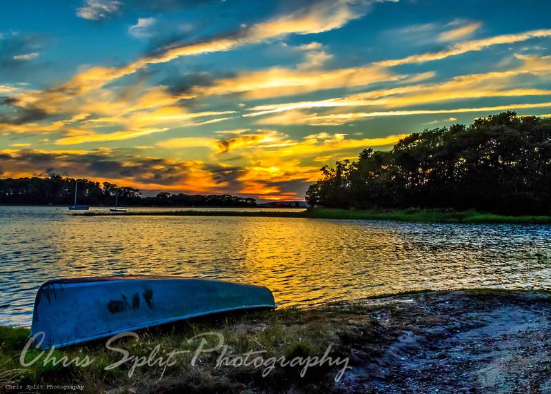 boat on shore sunset (1 of 1).jpg