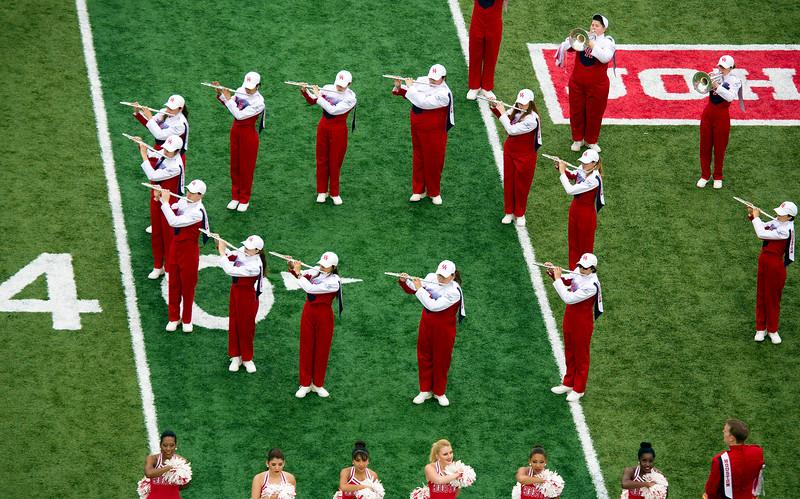 A circle of flutes ...
