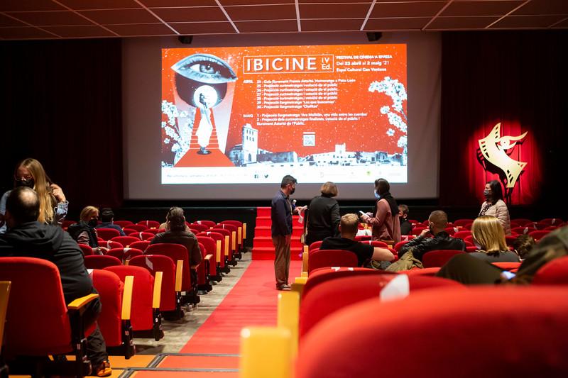 Ibicine 2021, IV Edición. Proyecciones semifinales. Foto: Cintia Sarría/ Biqúbica