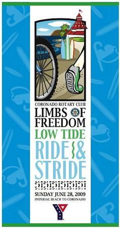 06/28/09 Coronado Low Tide Ride and Stride 8mi
