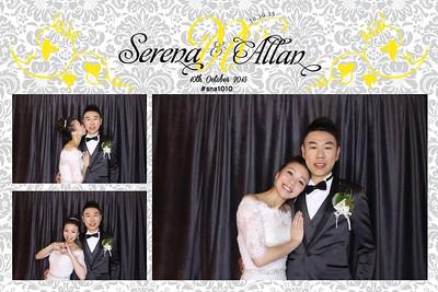 Serena & Allan's Wedding 10 Oct 2015