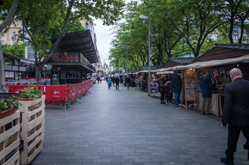 Market along the way