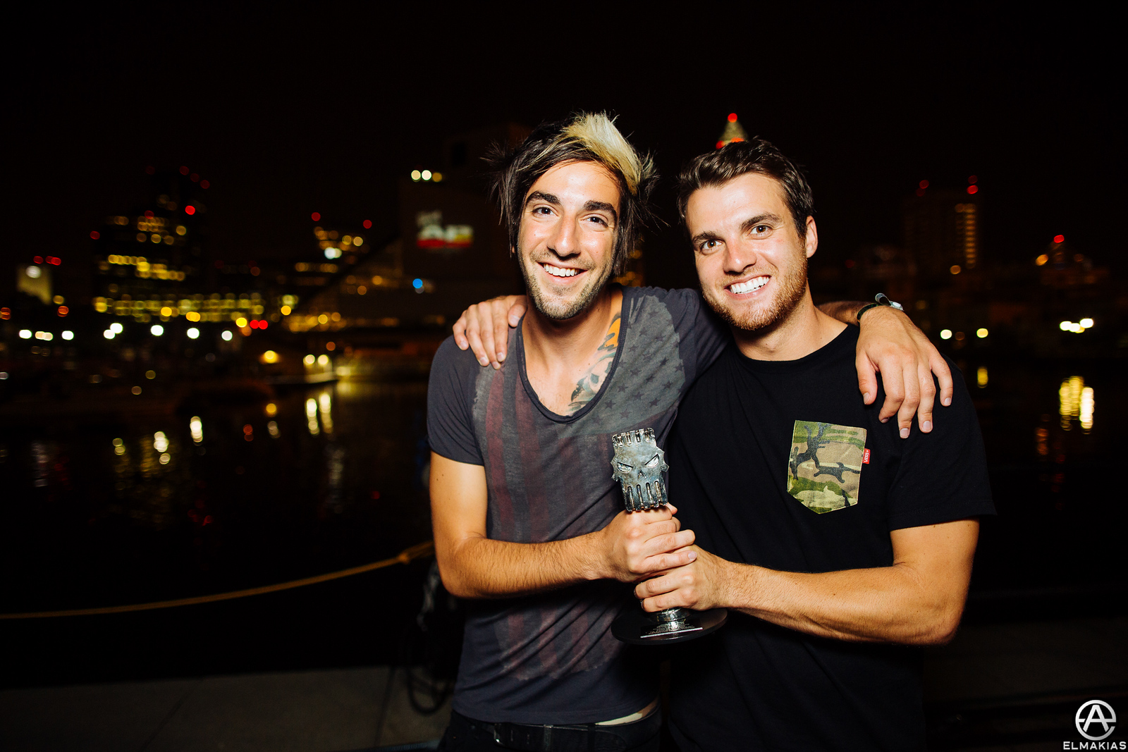 Rian and Jack stoked on life