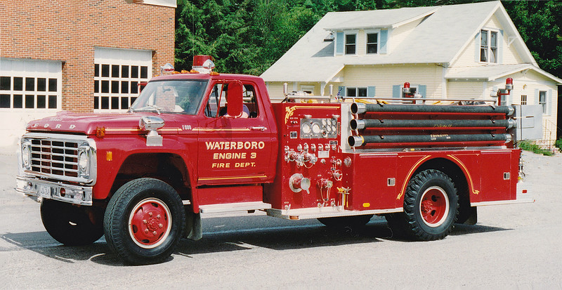 Retired   Engine 3.  1974 Ford / Thibault.  1000 / 500