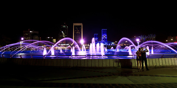 07/29/2011 - Refurbished Friendship Fountain in Downtown Jacksonville