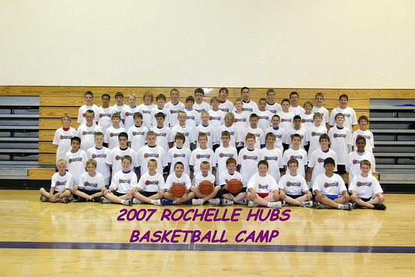 2007 HUBS BASKETBALL CAMP GRADES 1ST-8TH
