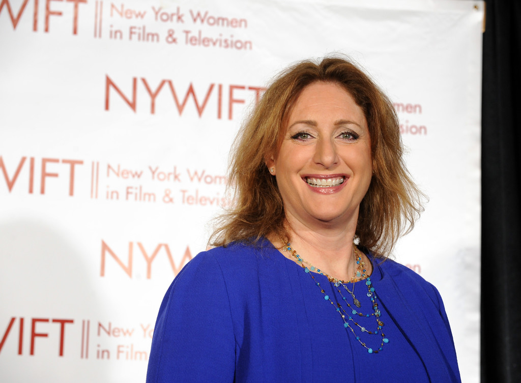. Judy Gold will appear Nov. 16-18 at Hilarities 4th Street Theatre. For more information, visit www.pickwickandfrolic.com/2017/08/judy-gold. (Photo by Diane Bondareff/Invision for New York Women in Film & Television/AP Images)