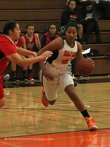 Varsity girls basketball 2015-16