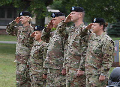 Fort Devens Change of Command ceremony 070121