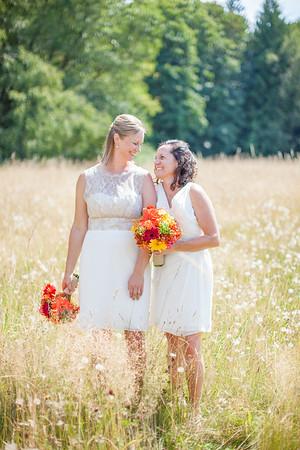 Diane & Laurrah Wedding