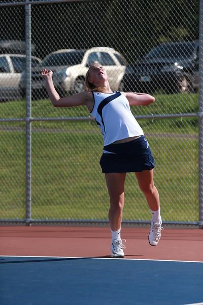 High School Tennis - Varsity Girls - Negaunee Miners vs Westwood Patriots - 09/03/14