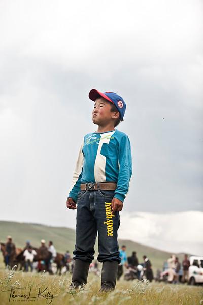 Naadam Festival at Bunkhan Valley. Mongolia.