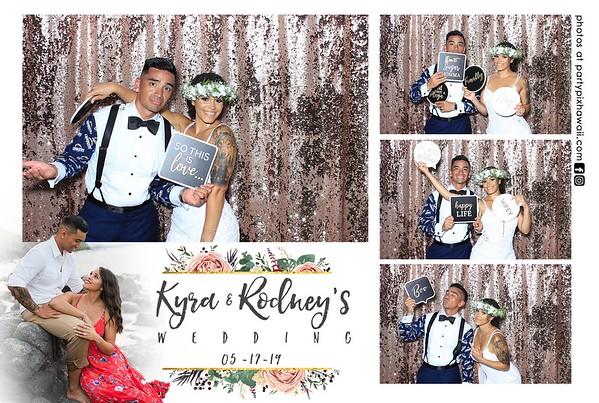 Kyra & Rodney's Wedding (LED Dazzle Booth)