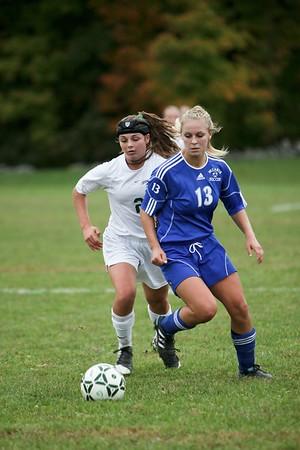 CCHS Girls Soccer vs Washingtonville (10.12.11)