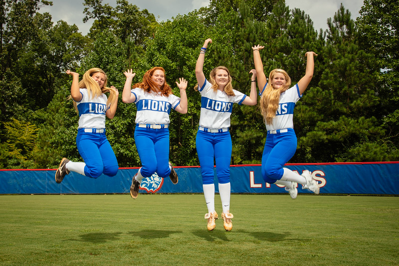 2016 Peachtree Ridge Lions Softball