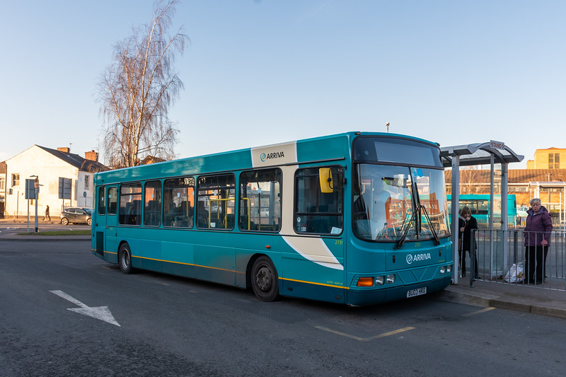 Arriva Midlands Wright Cadet BU03HRD 2731, Cannock Bus Station