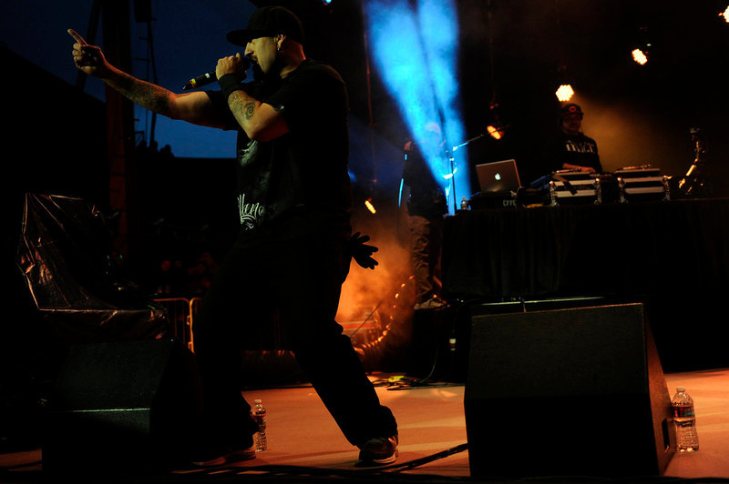 . B-Real of Cypress Hill performs at Red Rocks on Saturday, April 20, 2013 during Slightly Stupid\'s 420 Hot Box as a part of the High Times US Cannabis Cup. Seth A. McConnell, The Denver Post