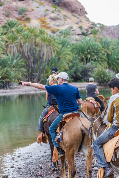 People riding on horse - Mexico
